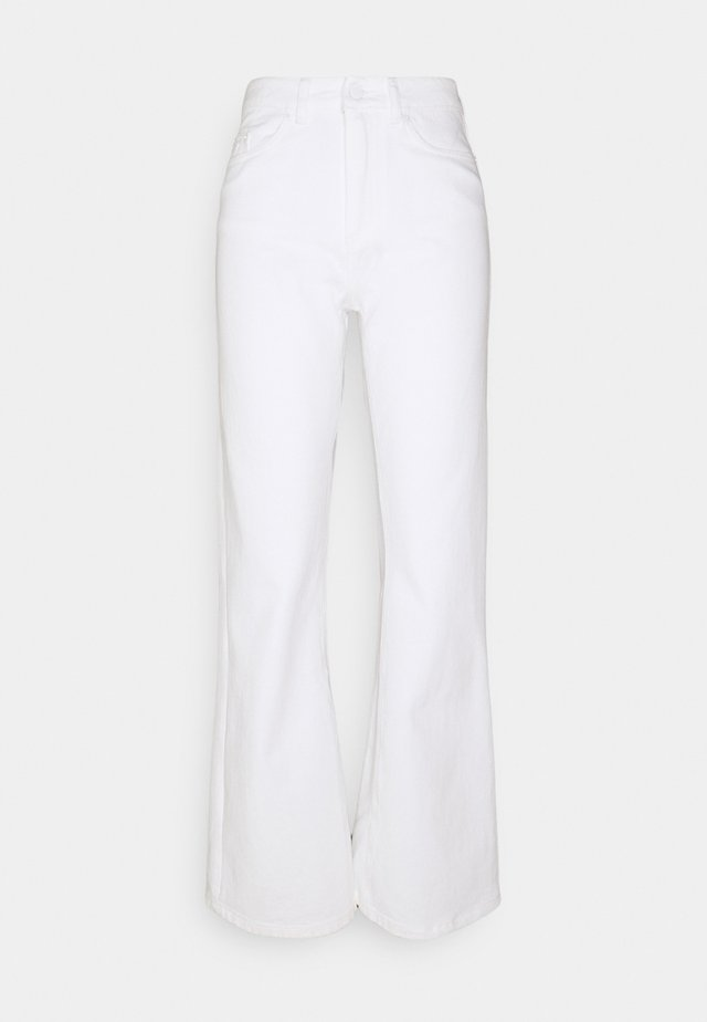 NINETTE - Džíny Straight Fit - white denim