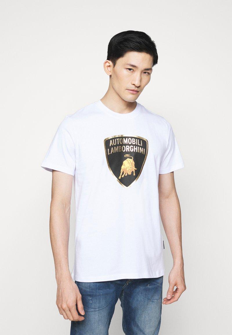 Lamborghini - T-shirt imprimé - white