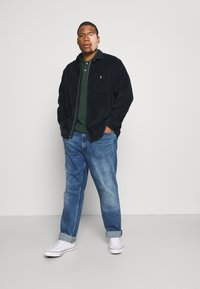 Polo Ralph Lauren Big & Tall - ZIP LONG SLEEVE - Shirt - navy/black - 1