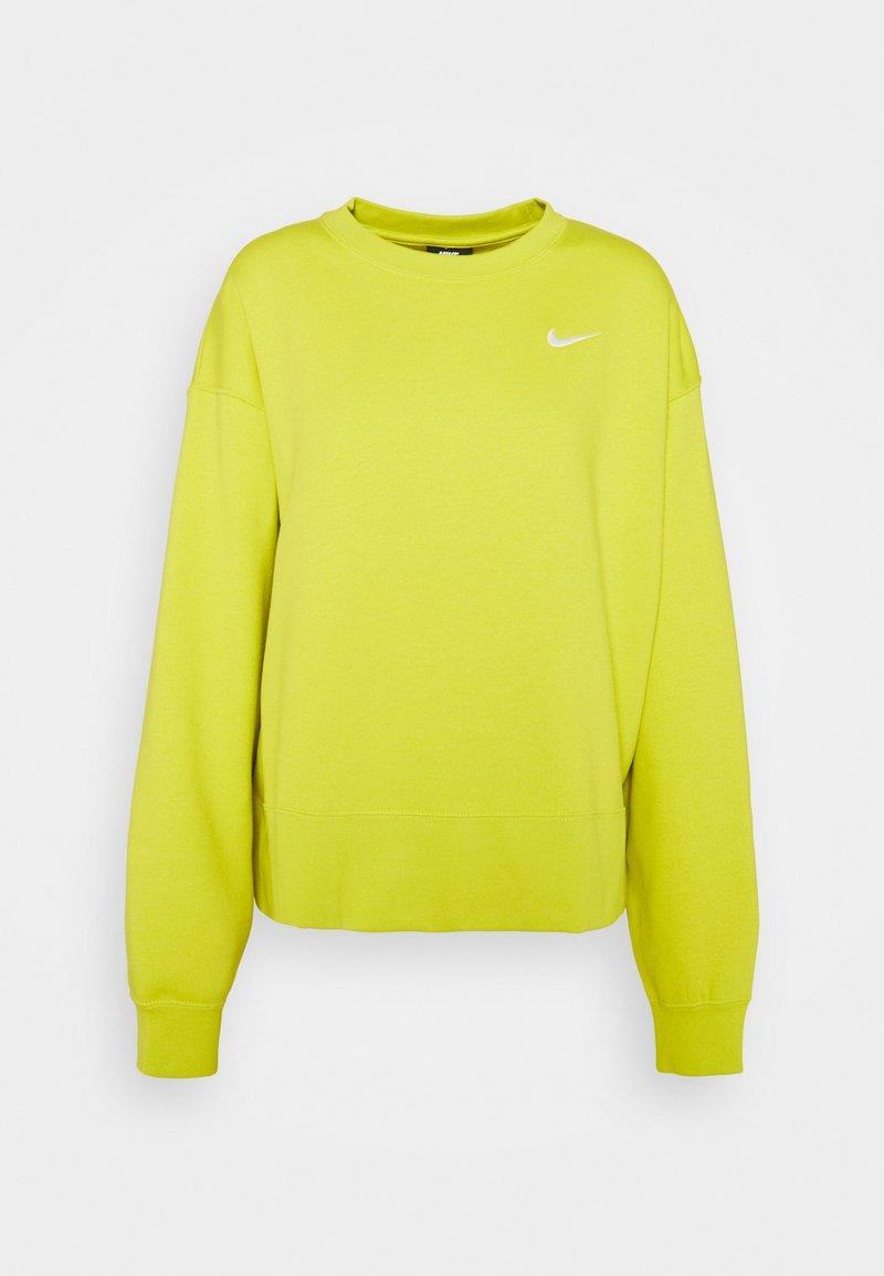 Nike Sportswear - CREW TREND - Sudadera - high voltage/white