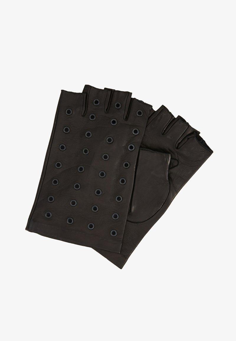 KARL LAGERFELD - Fingerless gloves - black