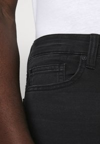 Only & Sons - ONSPLY  - Jeansshorts - black denim - 4