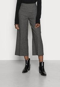 Opus - MISHA - Kalhoty - slate grey melange - 0