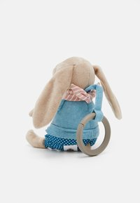 Jellycat - LITTLE RAMBLER BUNNY RATTLE UNISEX - Cuddly toy - beige - 1