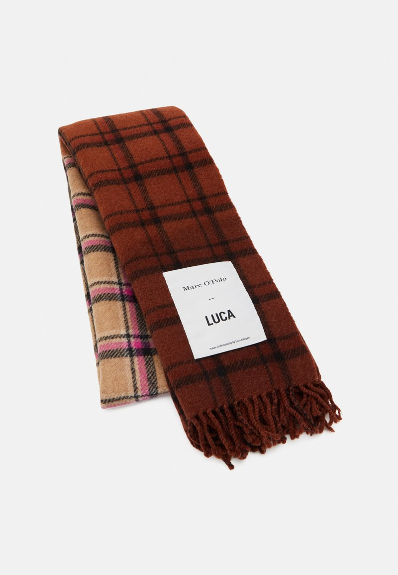 Marc O'Polo - SCARF WOVEN CHECK - Scarf - multi