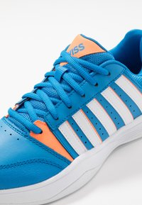 K-SWISS - COURT SMASH CARPET - Zapatillas de tenis para moqueta sintética - strong blue/neon citron - 2