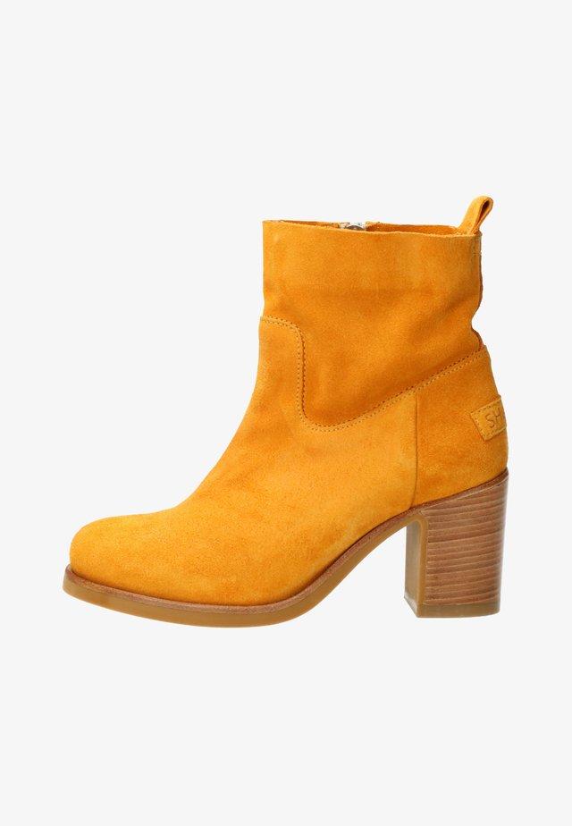 Korte laarzen - yellow