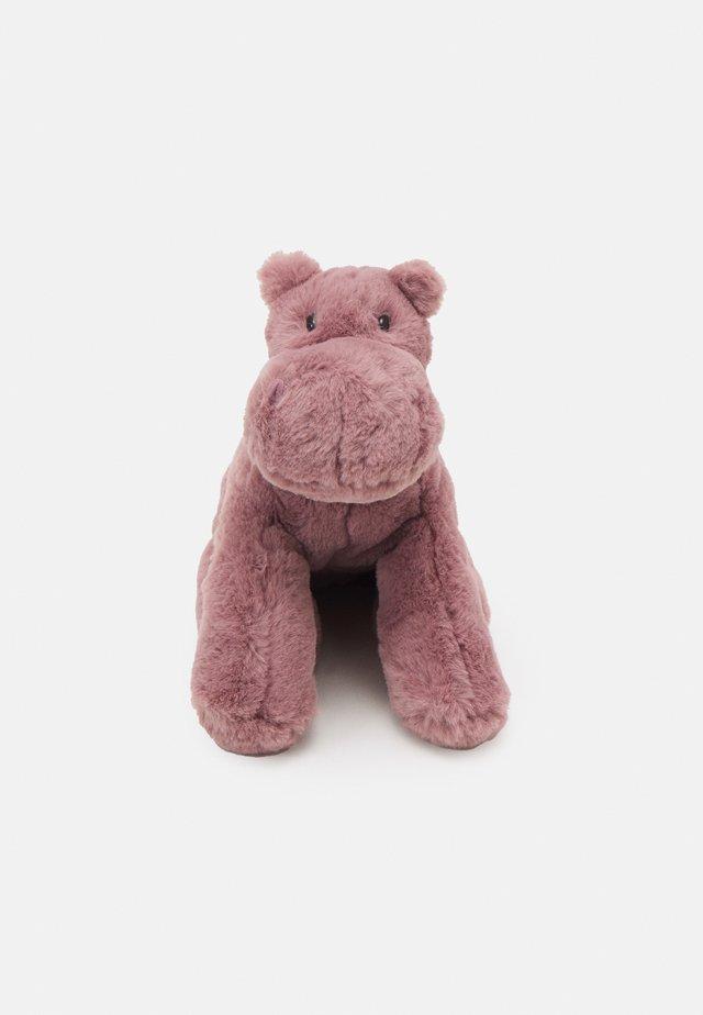 HUGGADY HIPPO UNISEX - Knuffel - mauve
