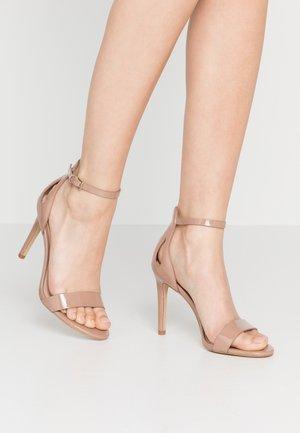 VIOLLA - Sandaler med høye hæler - bone