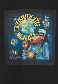 Nominal - SNOOP DOG TEE - T-shirt print - black - 2