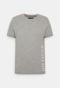 Tommy Hilfiger - SMALL LOGO TEE - T-shirt imprimé - grey - 4