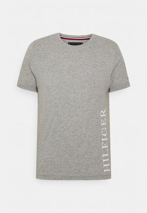 SMALL LOGO TEE - Print T-shirt - grey