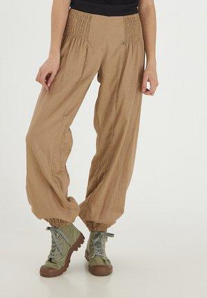 Pantalon classique - tannin