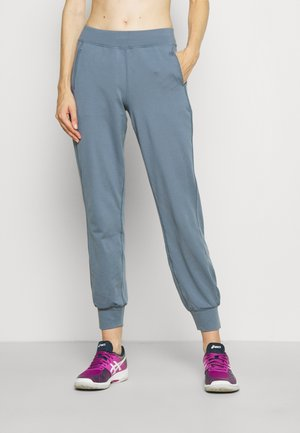 GARY YOGA TROUSERS - Tracksuit bottoms - steel blue