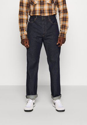 D-MACS - Straight leg jeans - rinsed denim