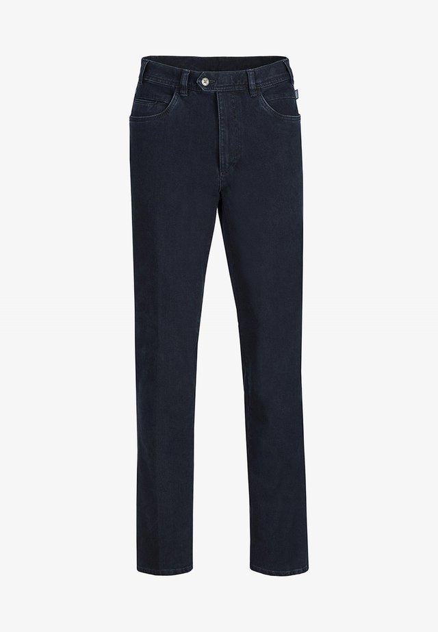 MILANO II DO MIT VERSCHOBENEM KNOPFVERSCHLUSS - Slim fit jeans - dark stone