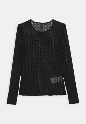 YASADELLA - Long sleeved top - black