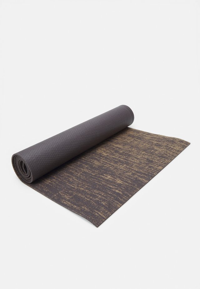 FLAX YOGA MAT - Fitness / Yoga - charcoal