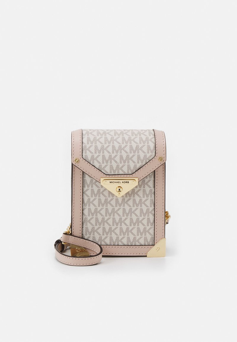 MICHAEL Michael Kors - GRACE XBODY - Across body bag - vanille/soft pink