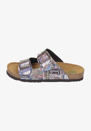 Slippers - mokka