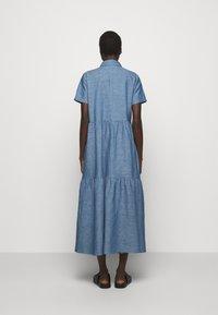 HUGO - ENNISH - Košilové šaty - medium blue - 2