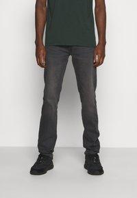 Lee - DAREN ZIP FLY - Straight leg jeans - black helen - 0
