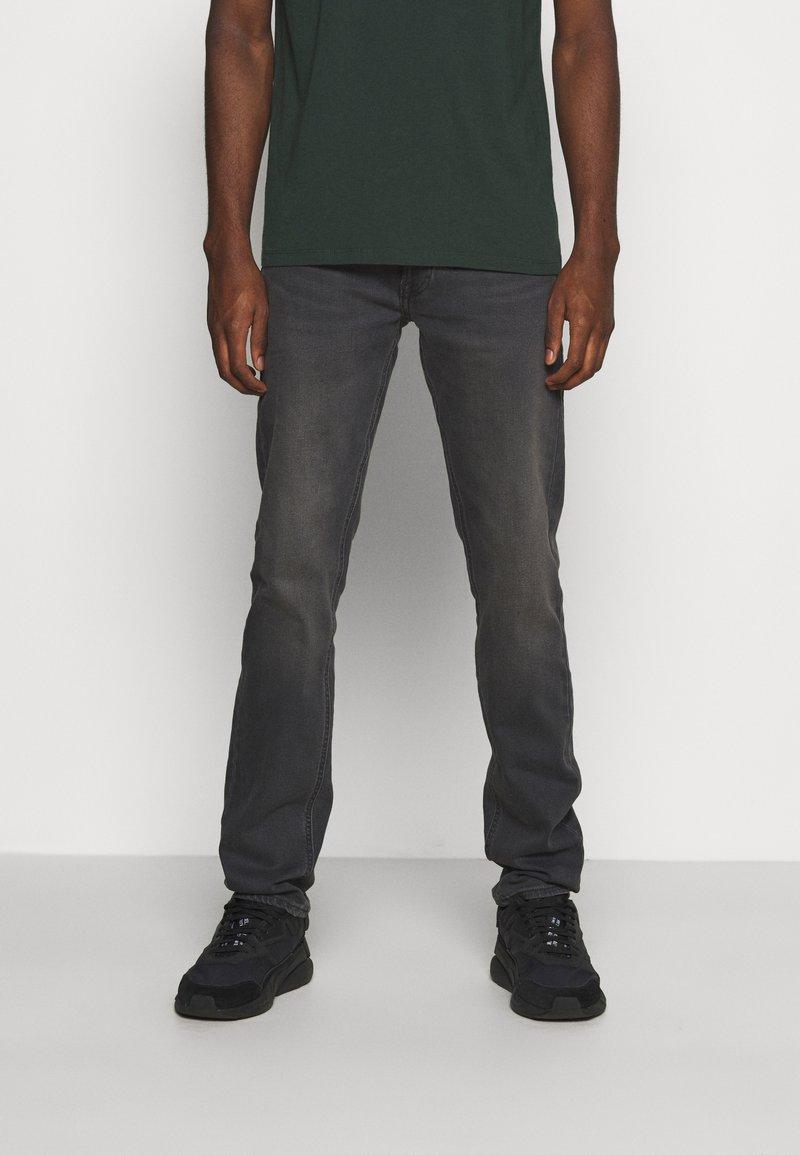 Lee - DAREN ZIP FLY - Straight leg jeans - black helen