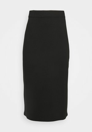 MIDI SKIRT - Pencil skirt - black