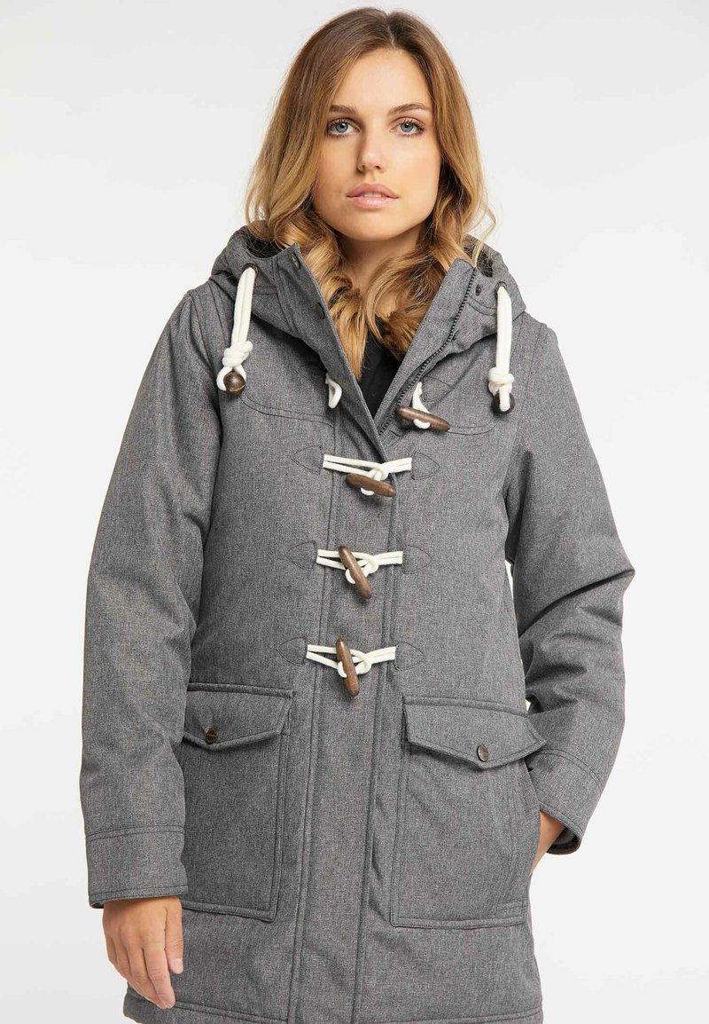 DreiMaster - Winter coat - grey melange