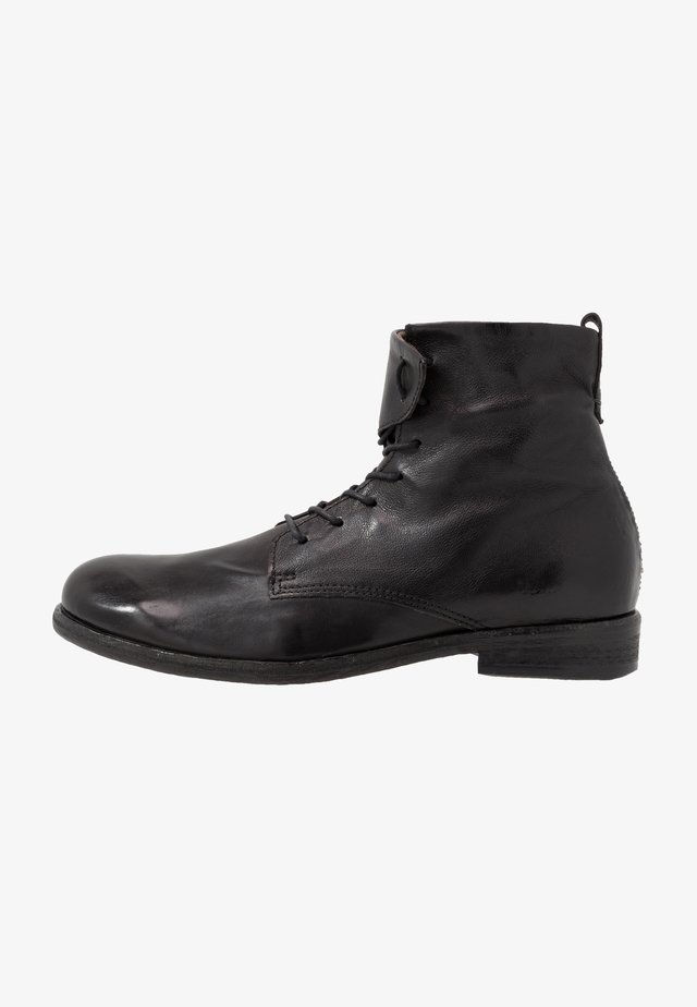 TRY - Lace-up ankle boots - nero
