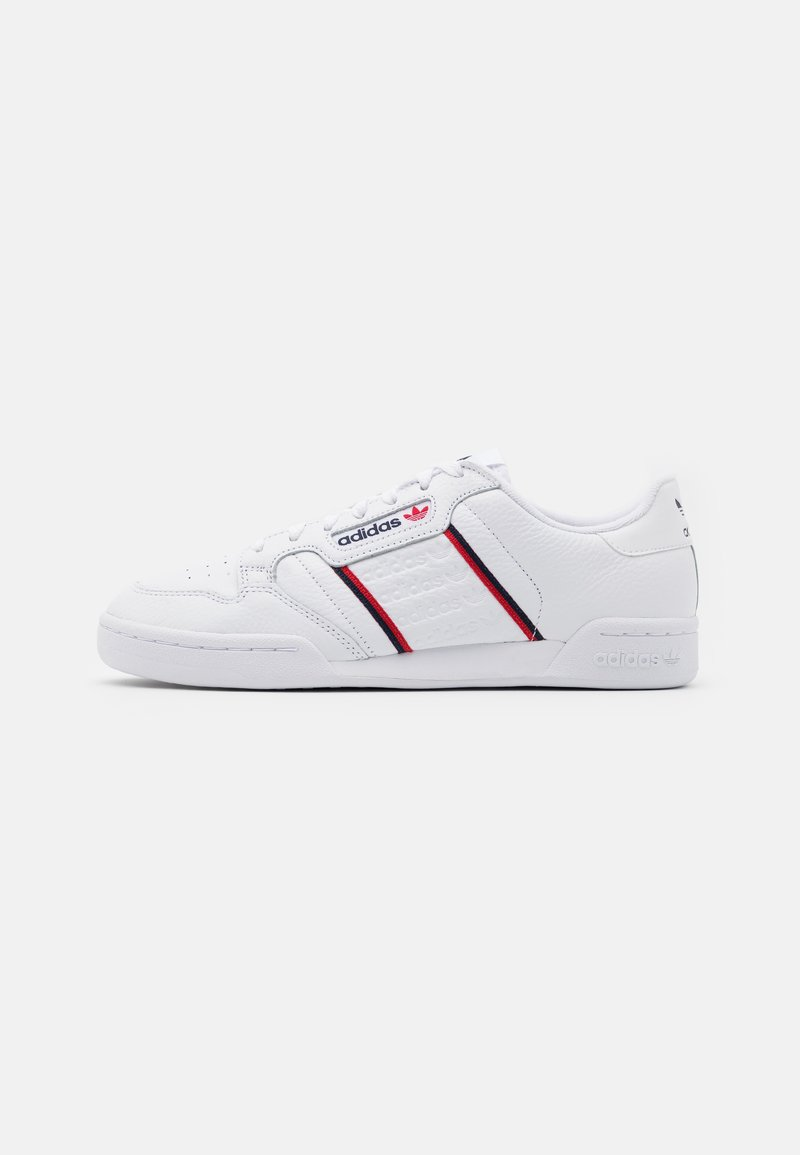 adidas Originals - CONTINENTAL 80 SPORTS INSPIRED SHOES UNISEX - Trainers - footwear white/collegiate navy