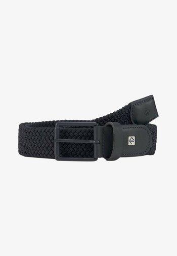 Braided belt - navy uni
