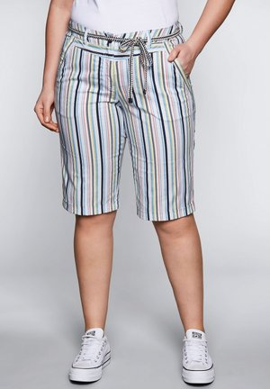 SHEEGO BERMUDAS - Shorts - offwhite bedruckt