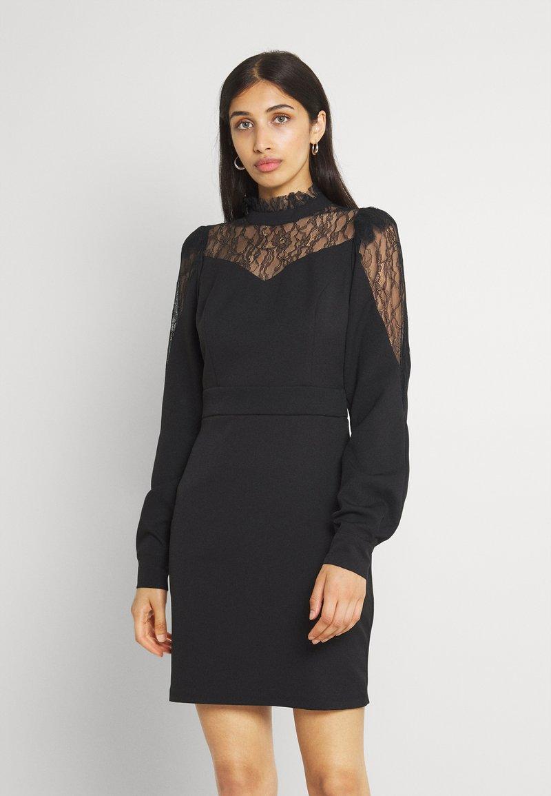 Trendyol - SIYAH - Koktejlové šaty/ šaty na párty - black