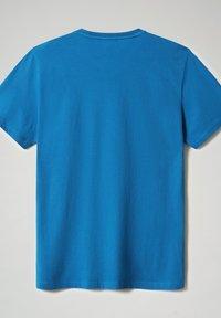 Napapijri - SALLAR - Print T-shirt - mykonos blue - 4