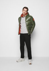 Save the duck - LUCKY - Winter jacket - thyme green - 1