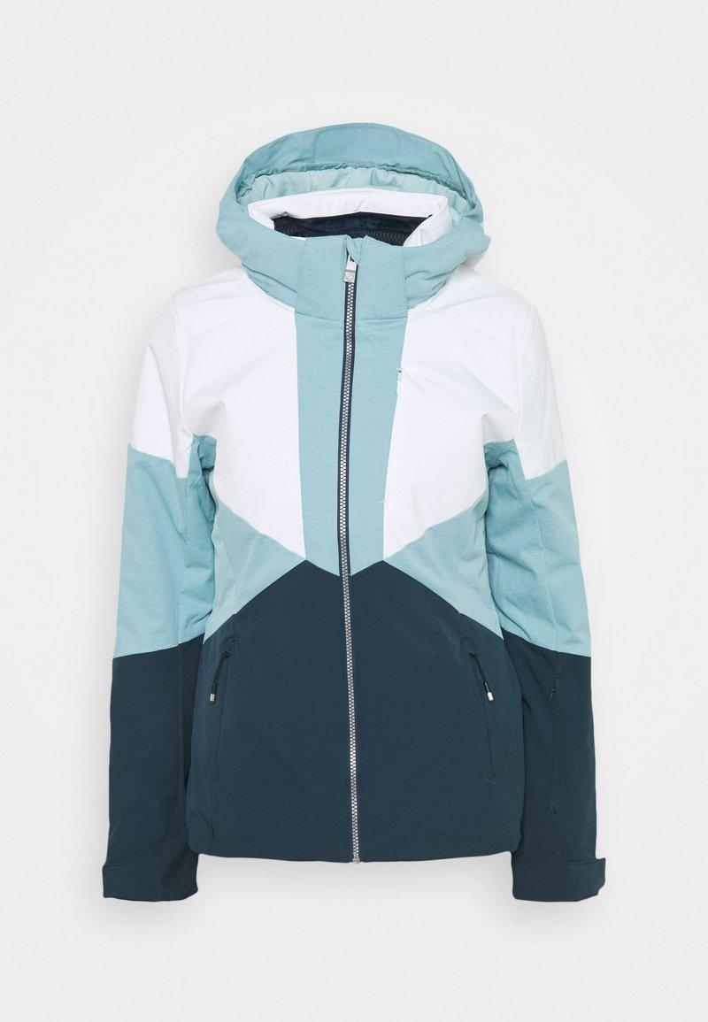 Ziener - TANSY LADY - Snowboard jacket - dark navy/white