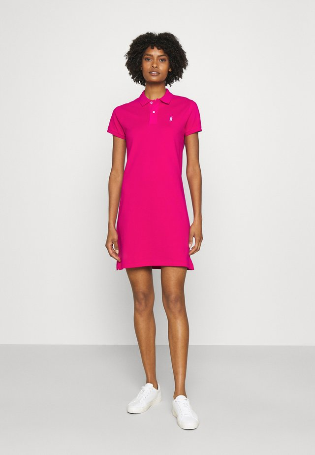 BASIC - Sukienka letnia - aruba pink