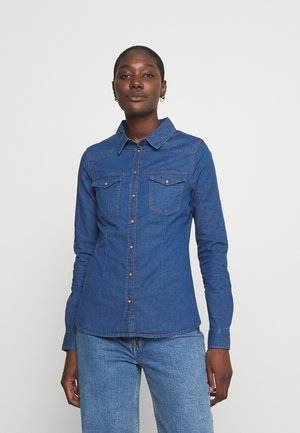 CAMISA BÁSICA - Skjorte - medium blue