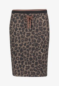 Betty Barclay - MIT JACQUARD - Pencil skirt - black/taupe - 3