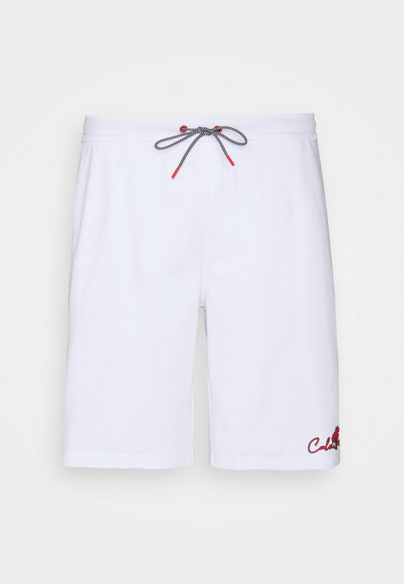 Calvin Klein - SUMMER GRAPHIC - Shorts - white