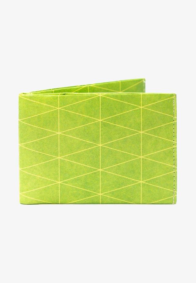 PORTEMONNAIE - Portemonnee - Dreiecke Outlines Grün
