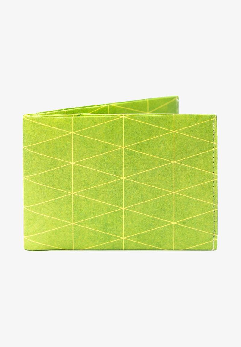 Paprcuts - PORTEMONNAIE - Portemonnee - Dreiecke Outlines Grün