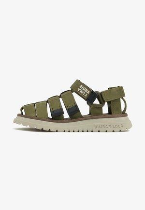 Walking sandals - khaki