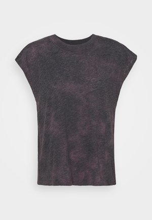 LIFESTYLE SLOUCHY MUSCLE TANK - Basic T-shirt - mulberry