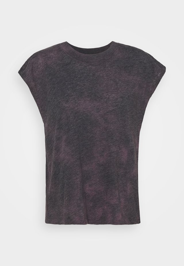LIFESTYLE SLOUCHY MUSCLE - T-shirt basic - mulberry