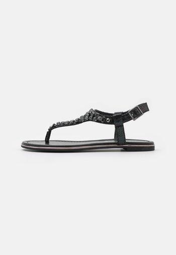 VEGAN RELLA - T-bar sandals - black