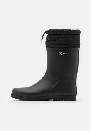 WARM UNISEX - Wellies - noir