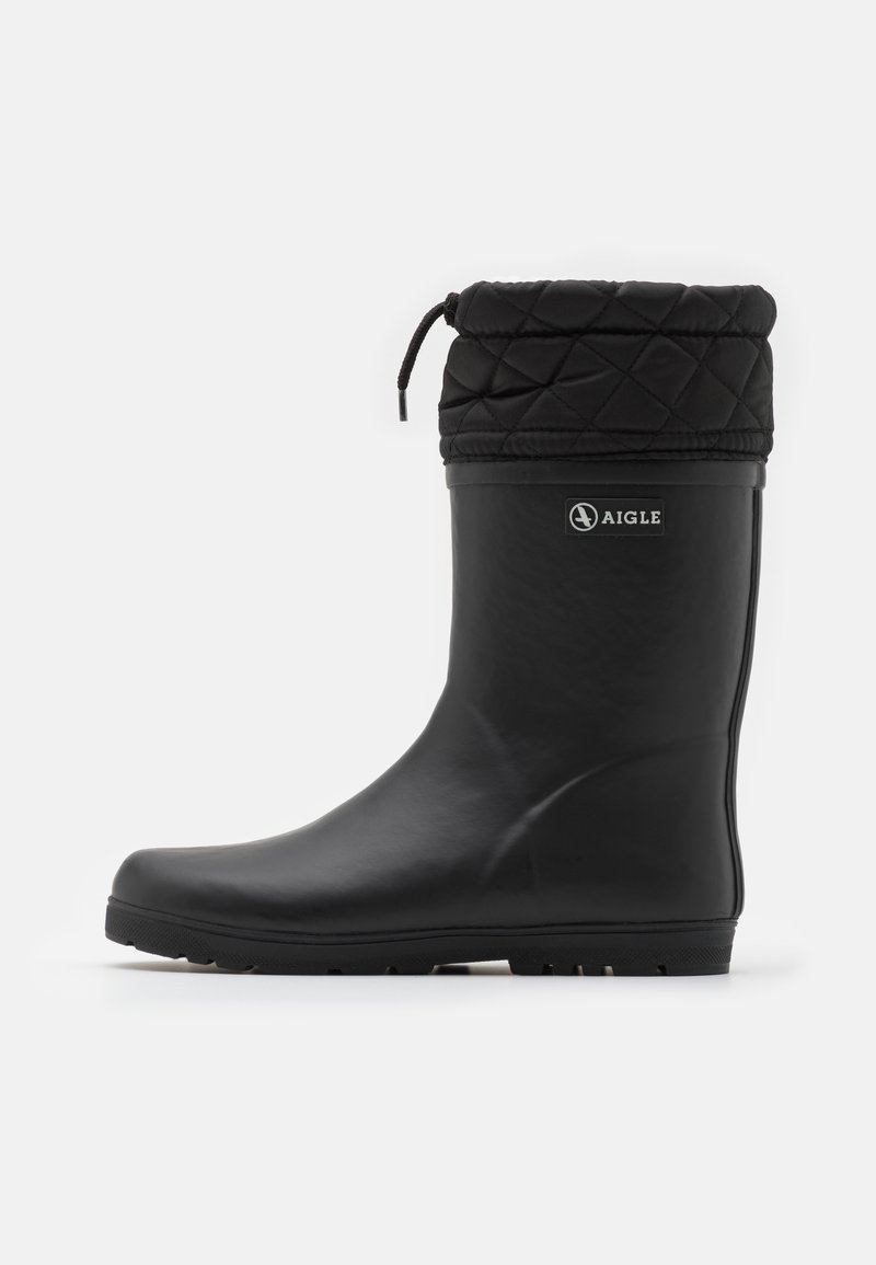 Aigle - WARM UNISEX - Wellies - noir