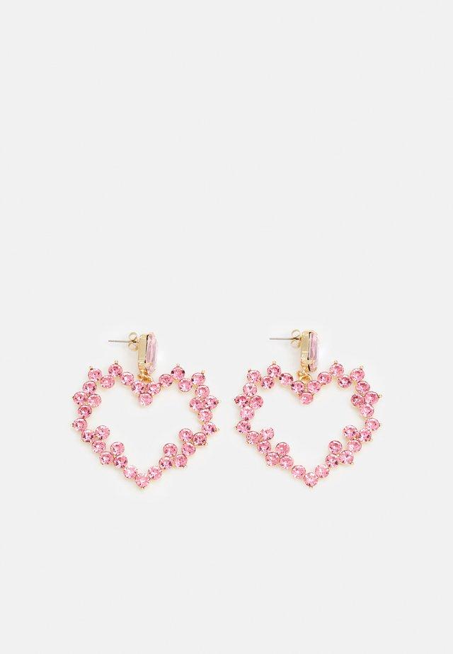 FGHOLLA EARRINGS - Örhänge - gold-coloured/rose